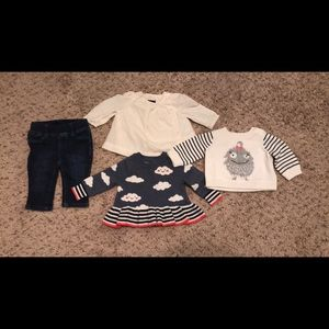 Baby Gap 0-3 month lot girls clothes